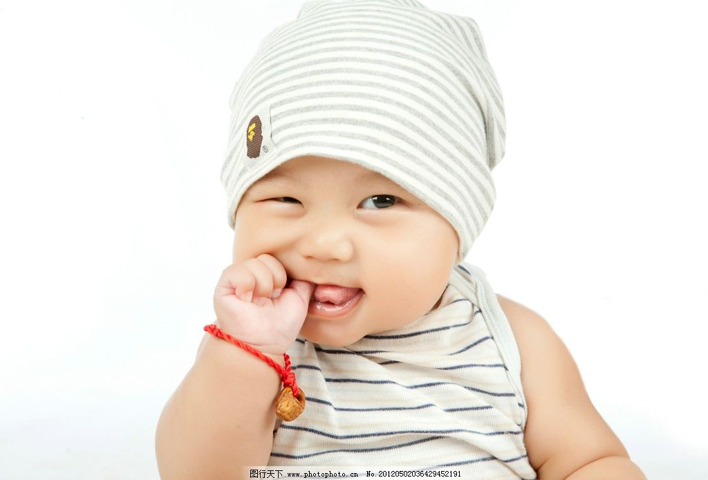爱笑的宝宝 帽子 男孩 男宝 笑容 微笑 灿烂 小帅哥 天使 儿童幼儿