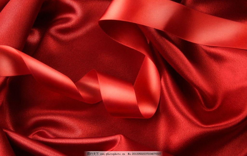 红色绸缎 绸缎 丝绸 布料 面料 背景 时尚 梦幻 底纹 生活素材 生活