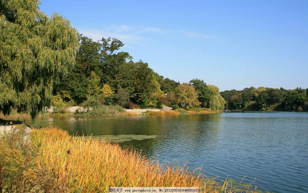 山水风景 山水 风景 旅游 摄影 树木 绿色 山 蓝天 白云 大自然 草地