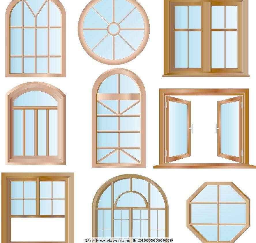 欧式窗户图片