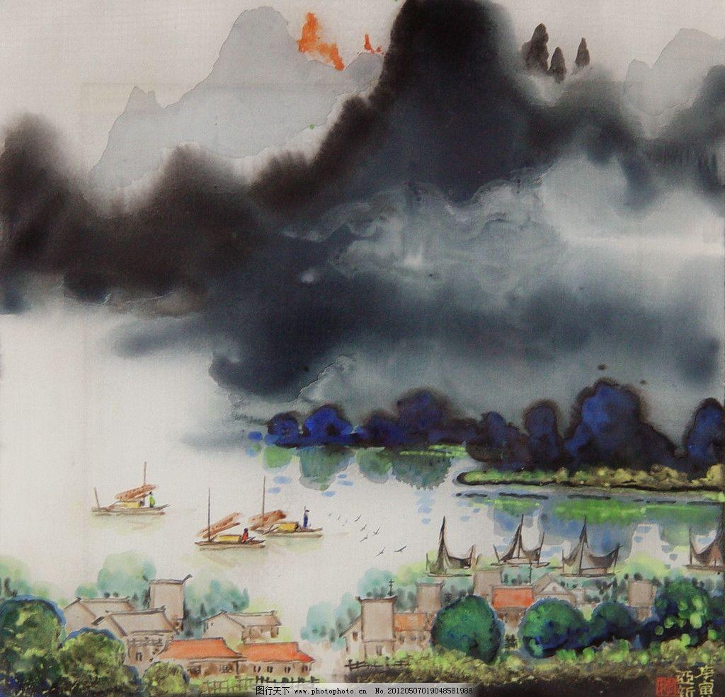 烟雨江南图片