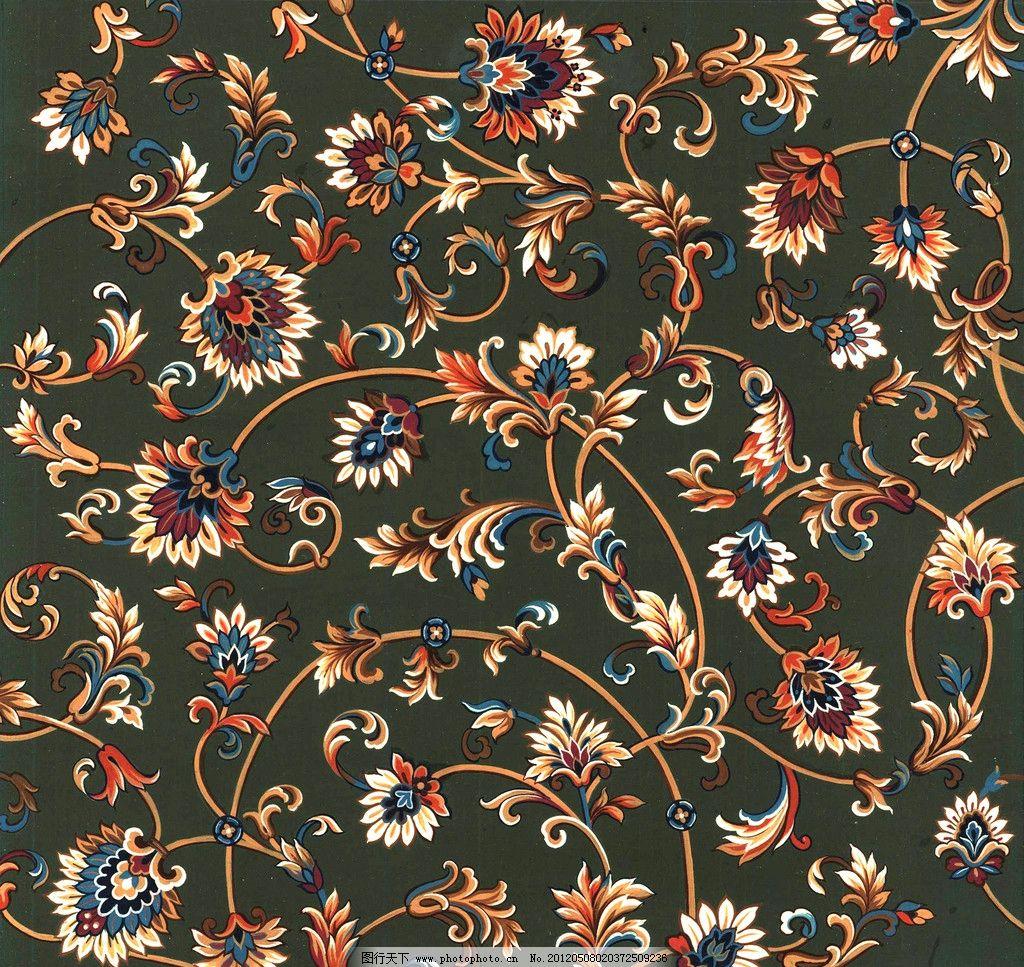 地毯图案 地毯 波斯纹样 花边花纹 底纹边框 设计 200dpi jpg