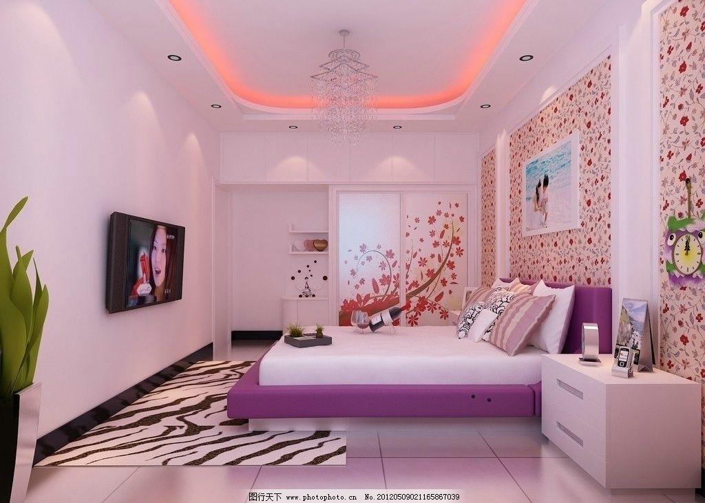 卧室室内设计图图片