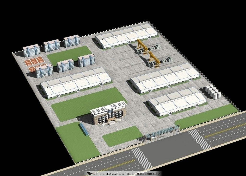 网架 桁架 节点 轻钢 钢构 工程 建筑 工厂 厂区 厂房 钢结构工程效果