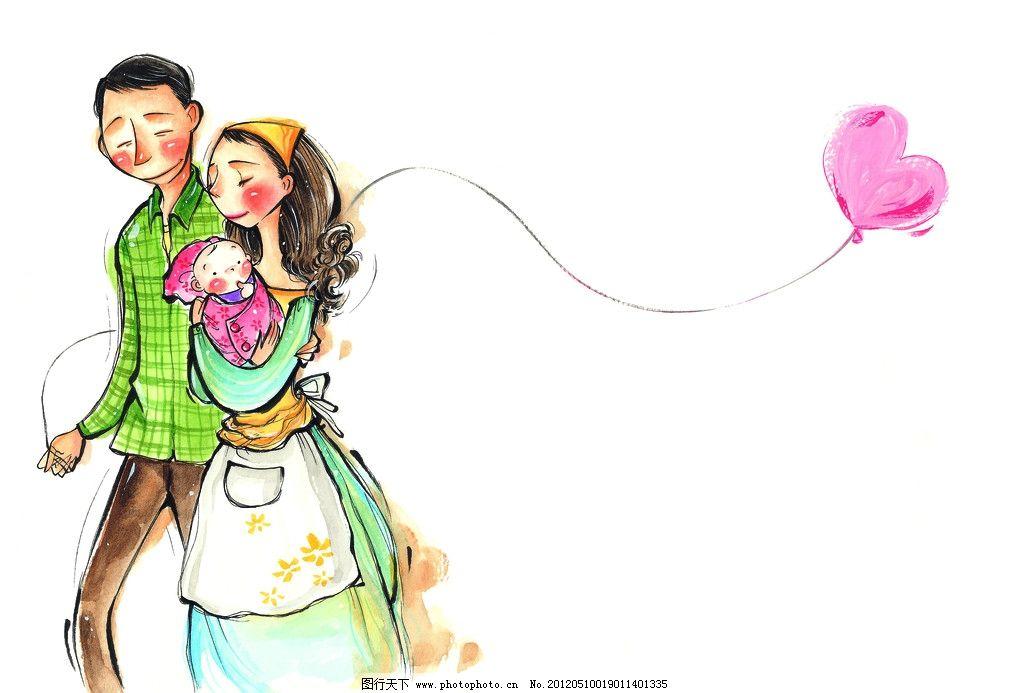 男孩 女孩 水粉画 插画 梦想 生活 彩粉画 蜡笔画 彩铅画 儿童画 卡通