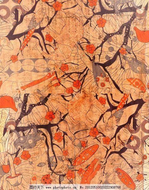 古典背景图片 复古布纹 布纹 装饰花纹 日本 古典 复古 和风 怀旧
