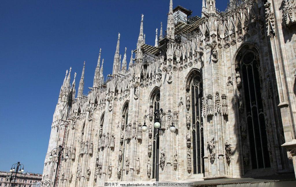 欧式建筑 意大利 建筑 走廊 教堂 著名旅游景点 遗址 街景 风景 人文