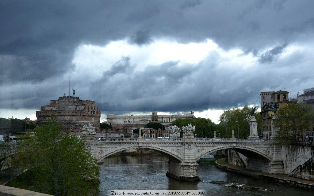 欧洲风景 欧洲 桥 风景 旅游景点 建筑景观 自然景观 摄影 300dpi jpg图片