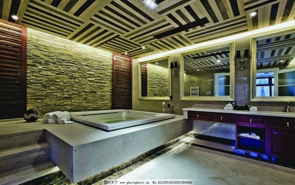 卫浴 洗手间 瓷片 抛光砖 全抛釉 铺贴图 效果图 奢华 欧式