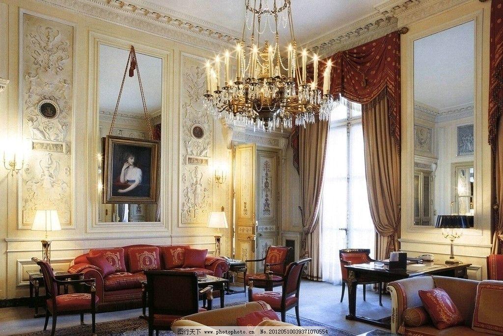 室内设计实景照片素材 室内 设计 欧式      过厅 沙发 实景 照片