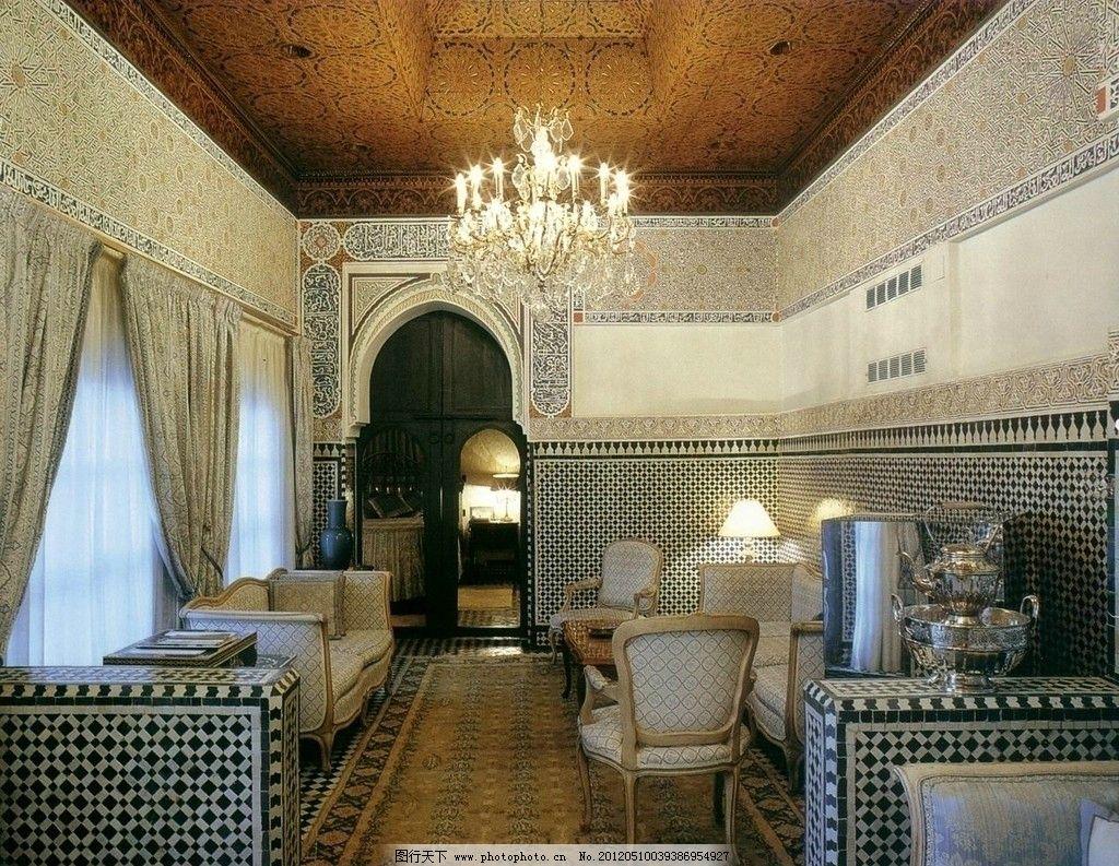 室内设计实景照片素材 室内 设计 欧式 餐厅 餐桌椅 实景 照片 素材