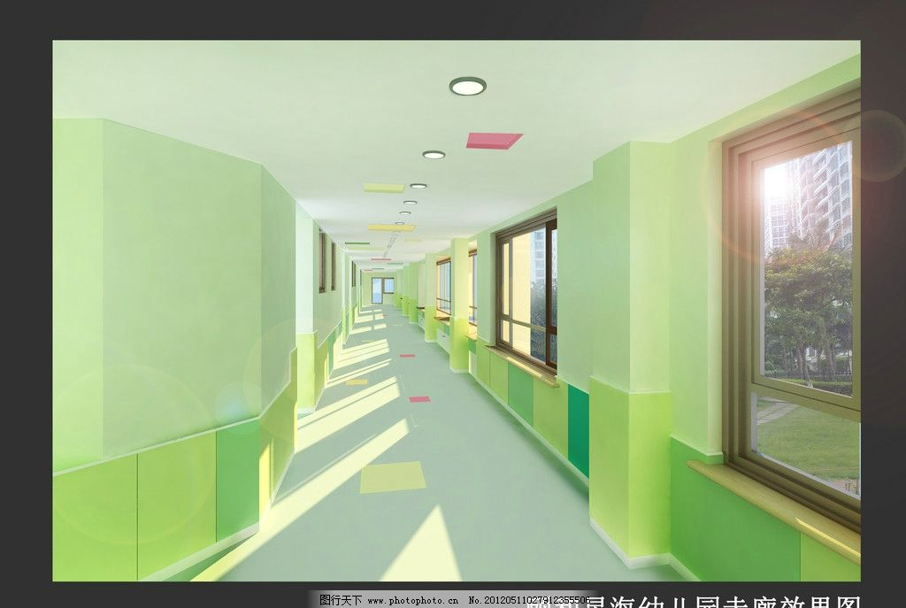 幼儿园设计 幼儿园 室内 多功能厅 室内设计 环境设计 设计 300dpi jp