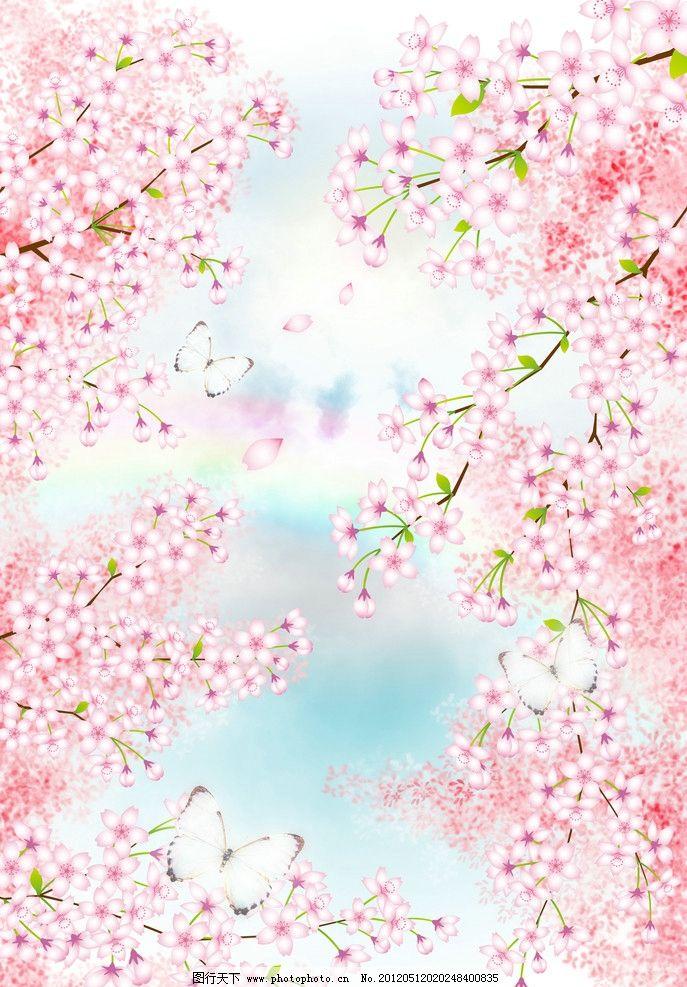 高清樱花 浪漫背景