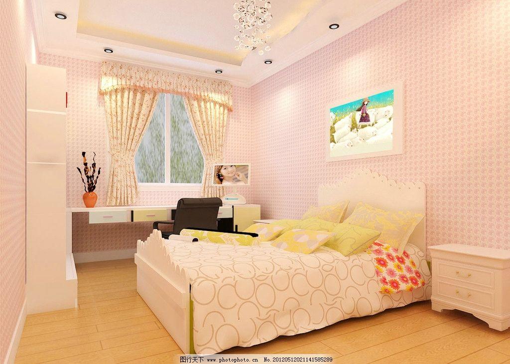 儿童房卧室室内设计图片