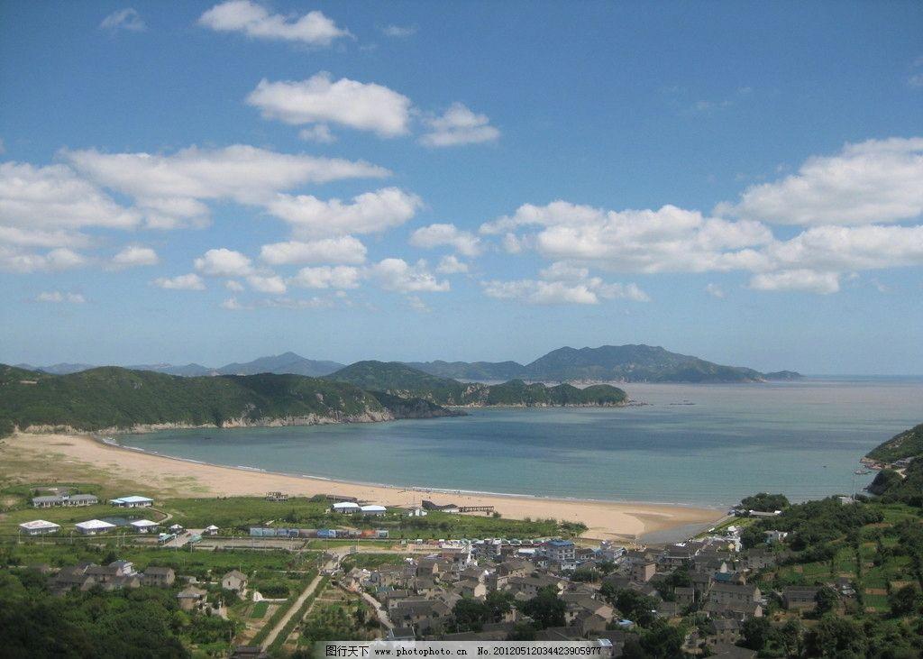 舟山桃花岛 蓝天碧水 岩石 青山绿水 清新 风景 山水风景 自然景观