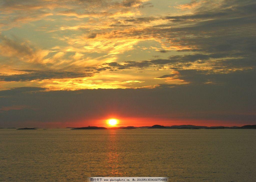 天空 日出 水面 火烧云 壁纸 自然风景 旅游摄影 摄影 72dpi jpg