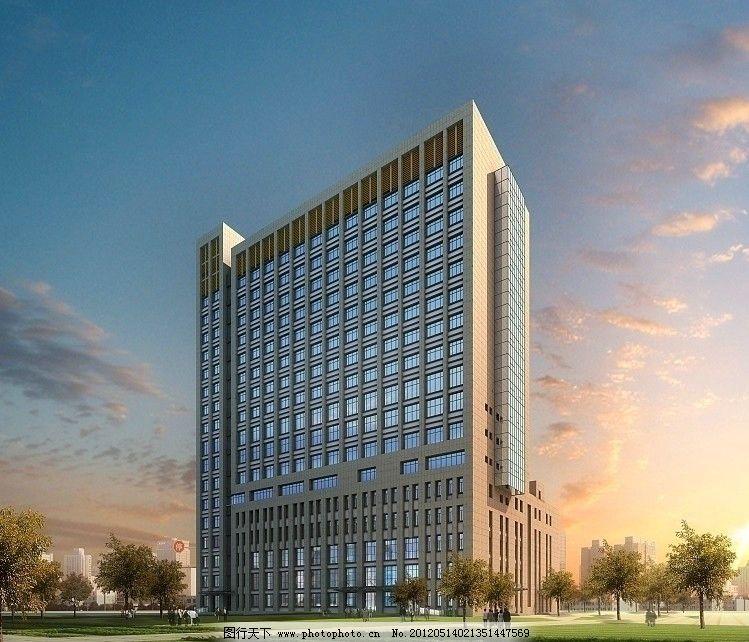 郓城人民医院模型 医院 模型 郓城 郓城人民医院 汽车站鸟瞰效果图 建图片