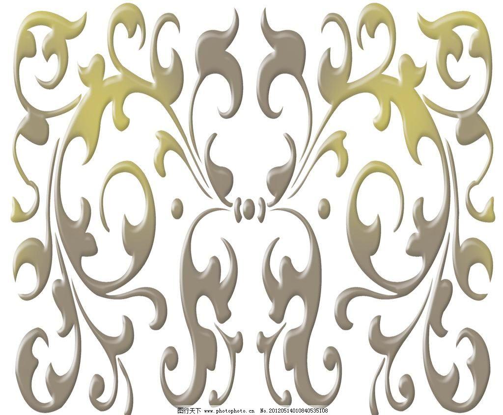 移门图案 欧式巴洛克设计素材 欧式巴洛克模板下载 欧式巴洛克 白底
