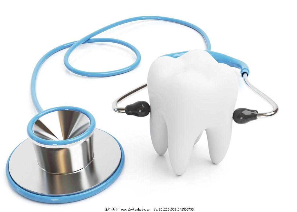 牙齿结构 3d 素材