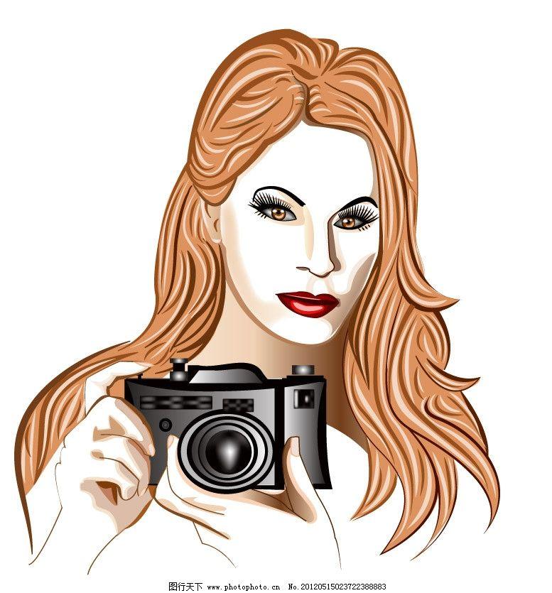 动漫人物手绘拍照