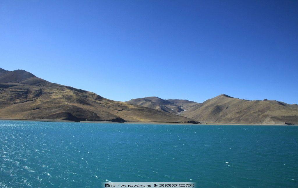 喀呐斯湖美景 蓝天 淡绿色湖水 山峰 山水风景 自然景观 摄影 72dpi