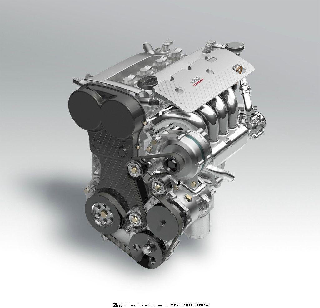 发动机 汽车发动机 机械 零件 部件 设备 涡轮 结构 构造 汽车 货车