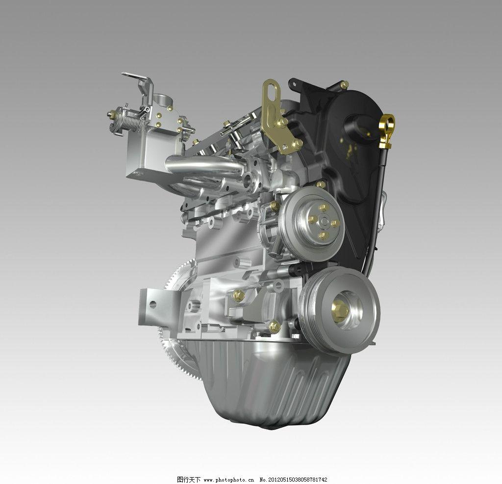 发动机 汽车发动机 机械 零件 部件 设备 涡轮 结构 构造 货车