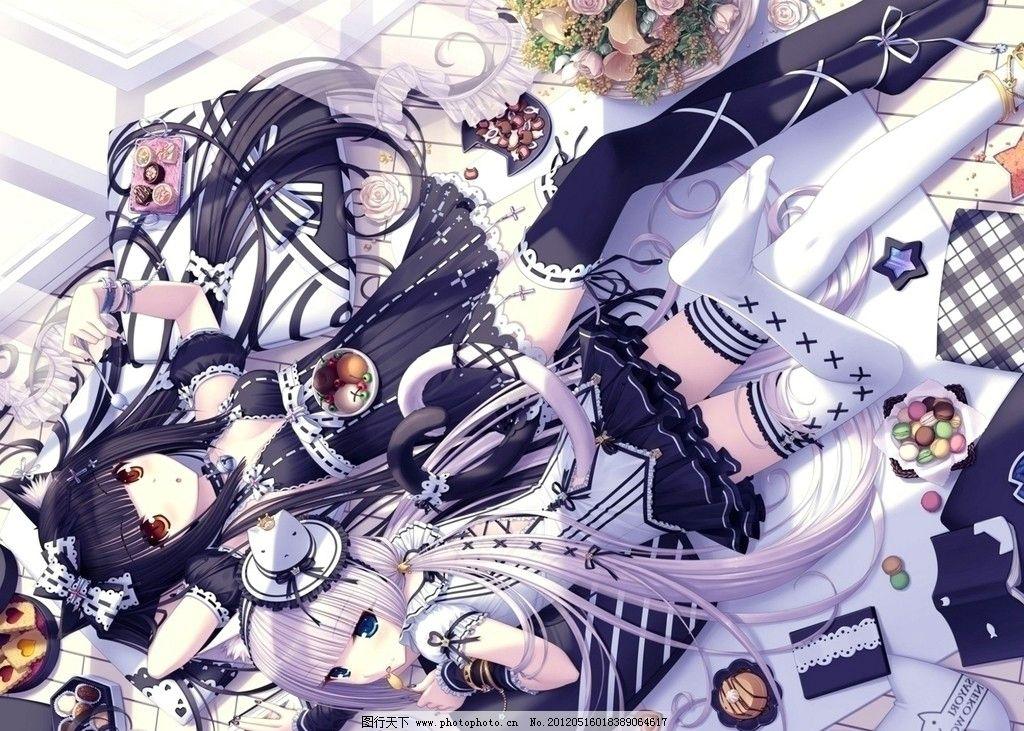 美食诱惑 动漫 美女 甜点 可爱 动漫人物 动漫动画 设计 400dpi jpg