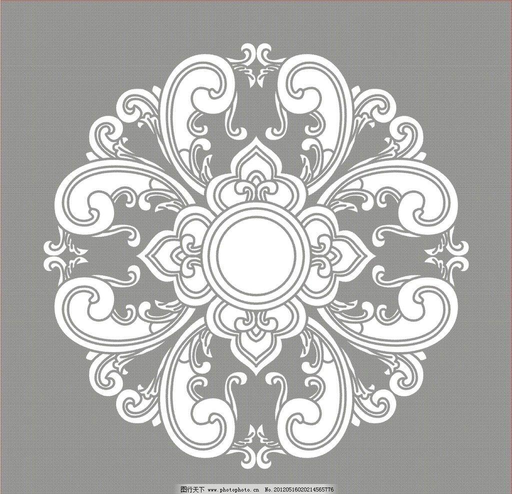 二方连续 抽象 花纹 圆花纹 底纹 底纹背景 底纹边框 矢量 cdr