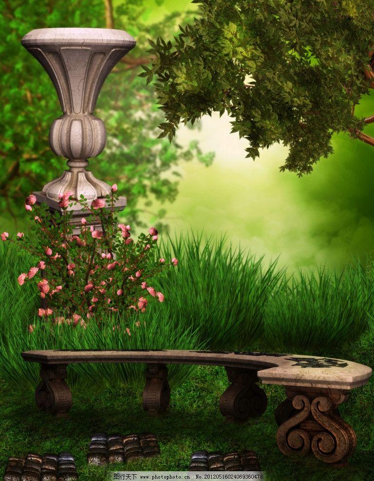 梦幻森林 童话世界图片