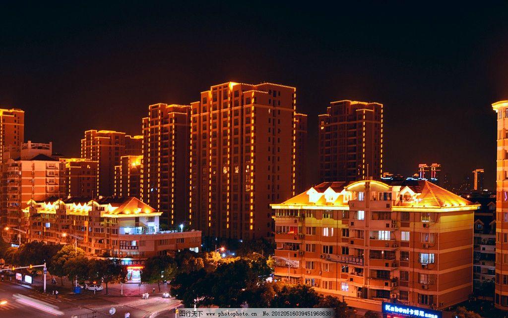 城市夜景 夜景 灯光 现代建筑 汽车轨迹 建筑摄影 建筑园林 摄影 300