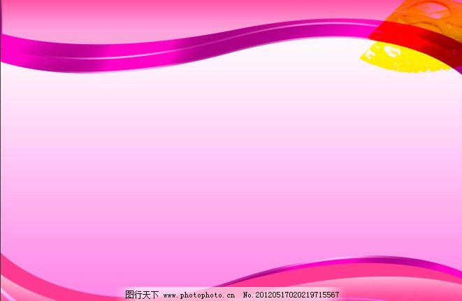 流线型红色展板背景图片_背景底纹_底纹边框_图行天下