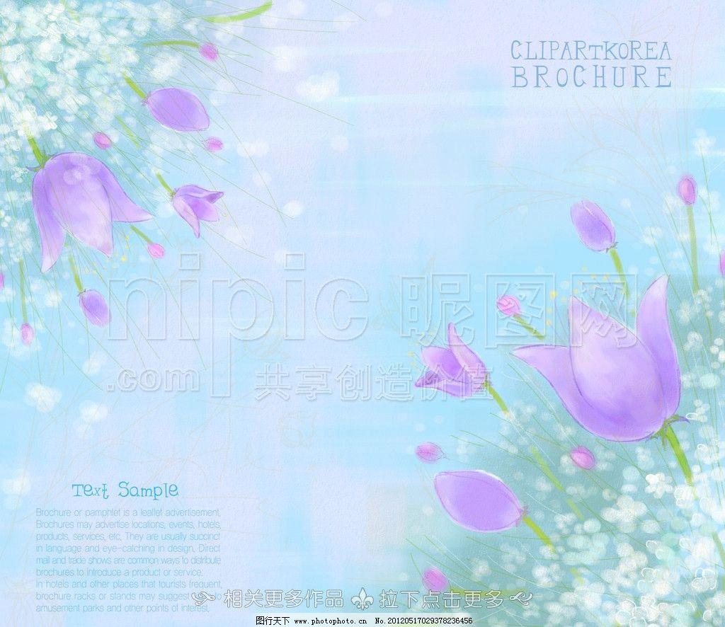 手绘花朵 手绘花卉 笔记本 笔记册子 手绘笔记本 手绘本 记事本封面