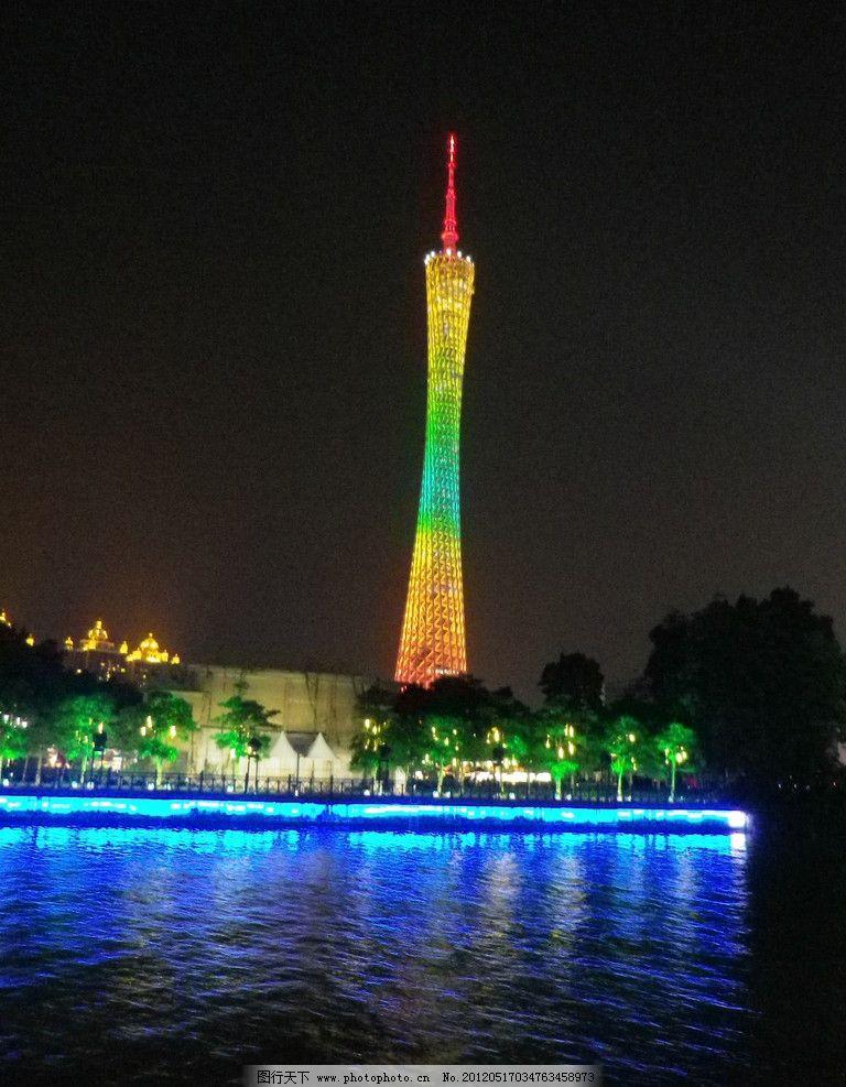 广州塔图片_建筑景观_自然景观