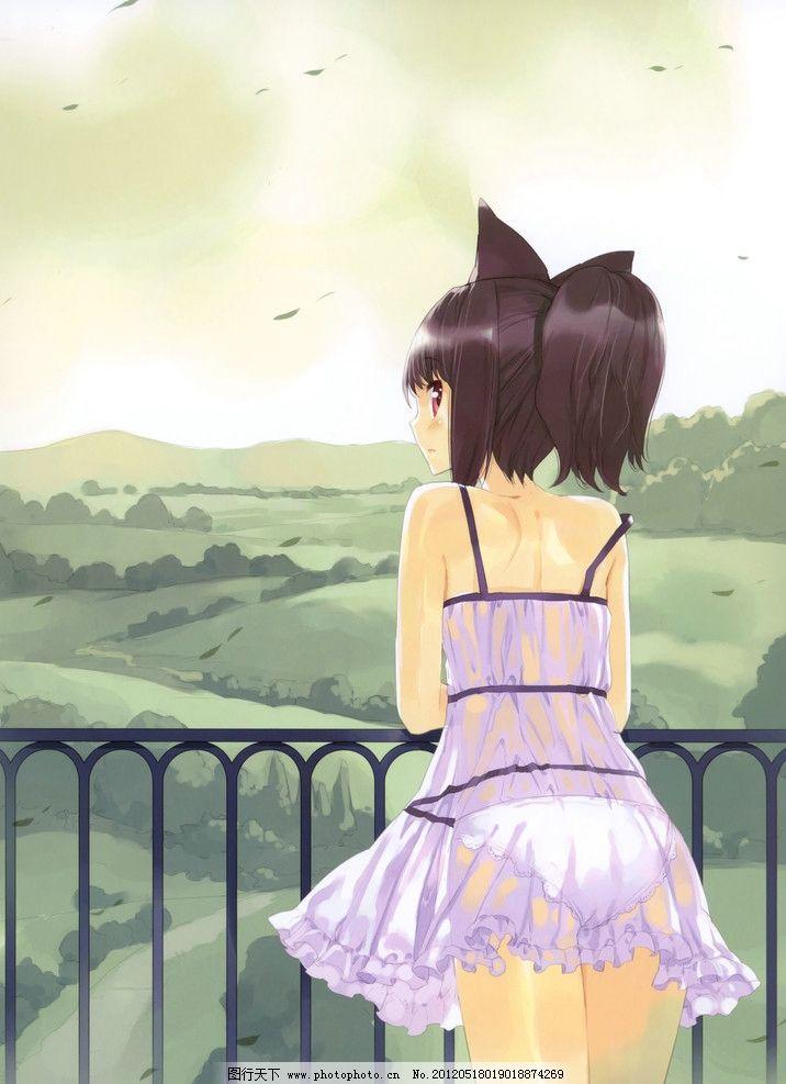 可爱美女 性感女生 短裙