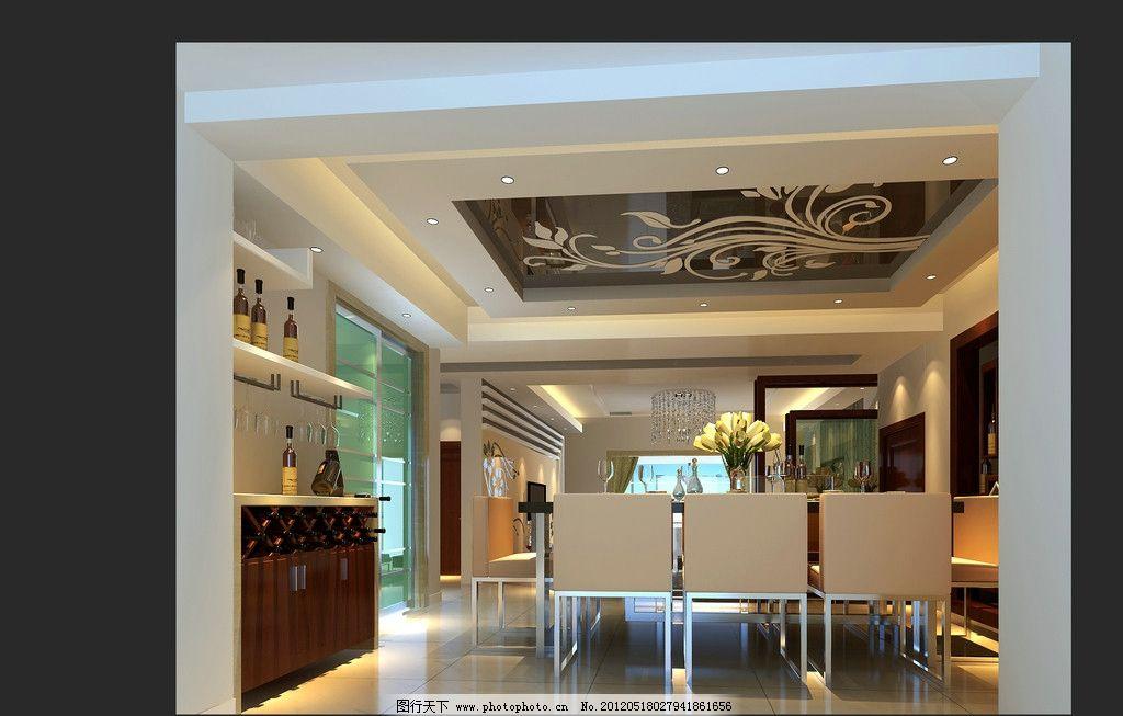 中式客厅设计图图片