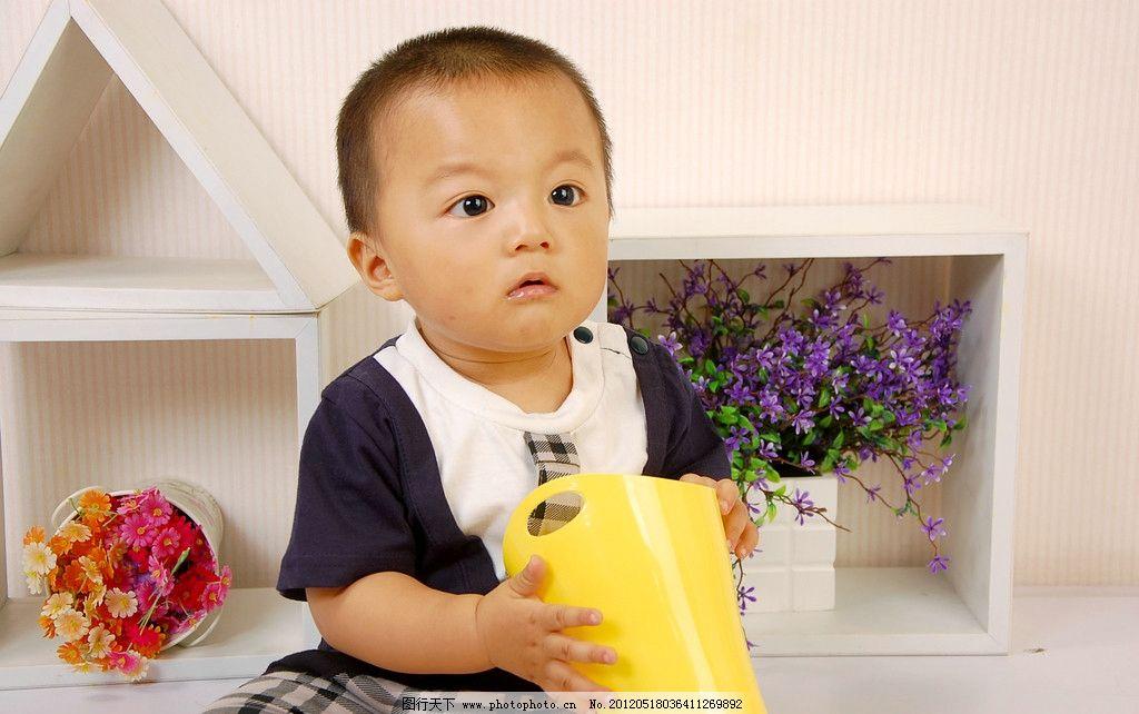 可爱宝宝艺术照图片