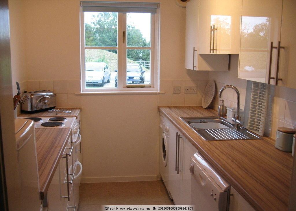 室内装修摄影 室内 装修 摄影 水池 厨具 窗户 国外 壁橱 面包机 电磁