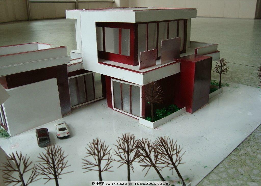 模型制作 摄影作品 手工制作 外观设计 别墅 其他 建筑园林 摄影 72