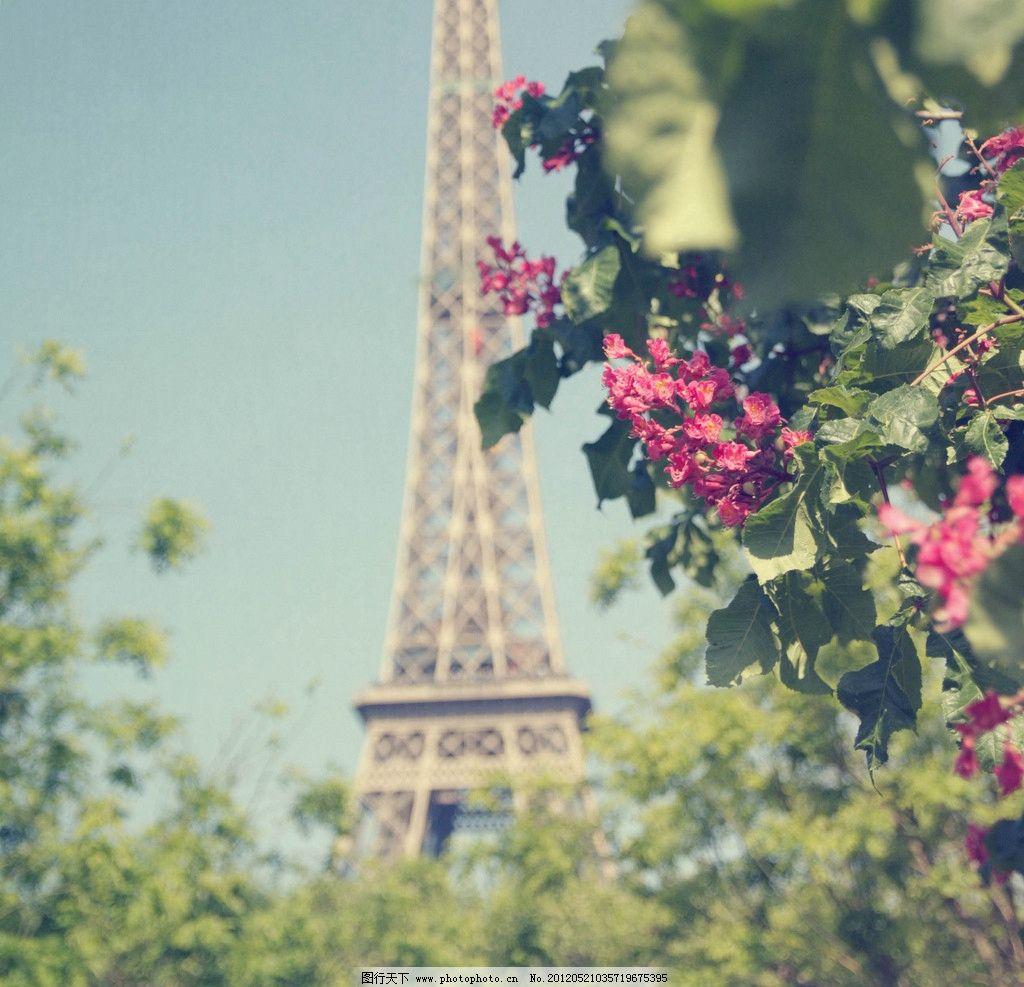 巴黎埃菲尔铁塔 巴黎 埃菲尔
