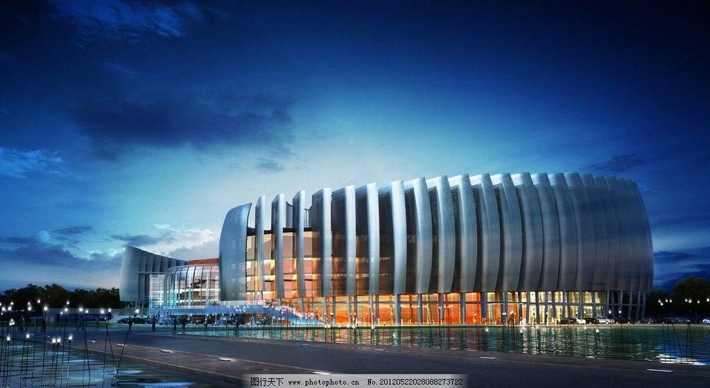 山东德州大剧院 山东 德州大剧院 德州 建筑素材 大剧院 建筑设计