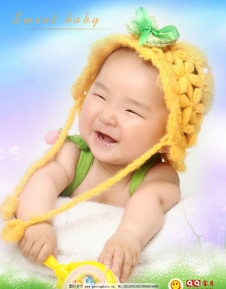 小宝贝 可爱宝宝 调皮 天真 摄影 灿烂笑容