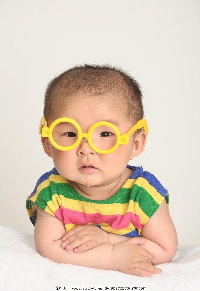 可爱宝宝 小宝贝 调皮 天真 可爱小公主 儿童幼儿 人物图库 摄影 带