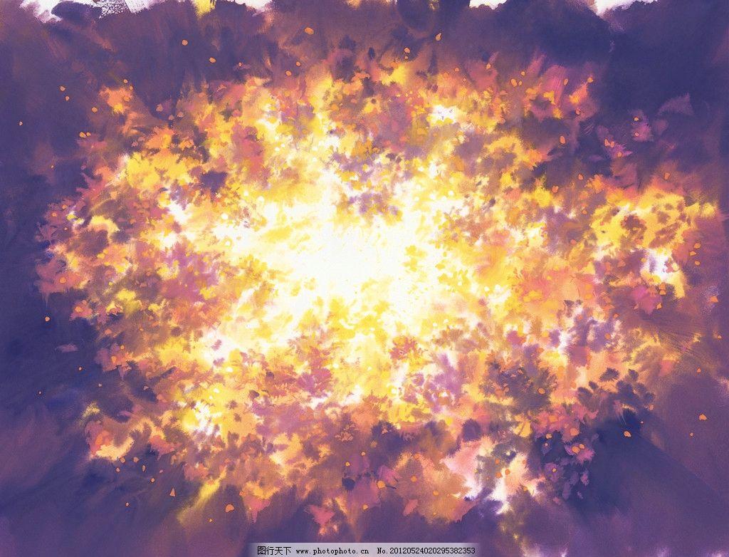 星空图片彩铅手绘图片