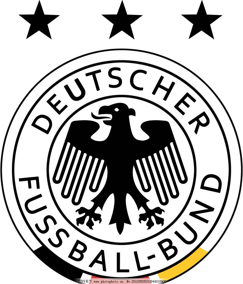 德国男子足球队队徽图片