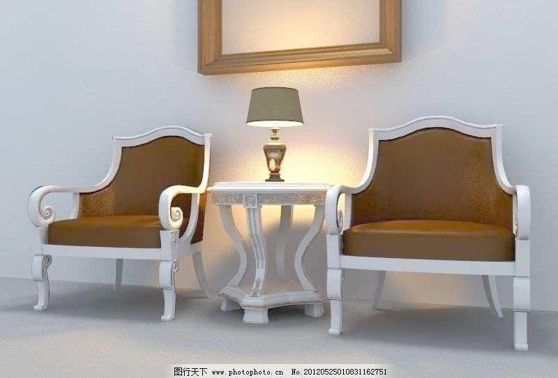 欧式座椅图片_其他_装饰素材