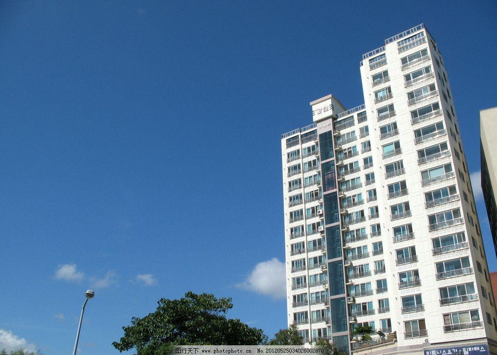 韩国济州岛高楼建筑图片