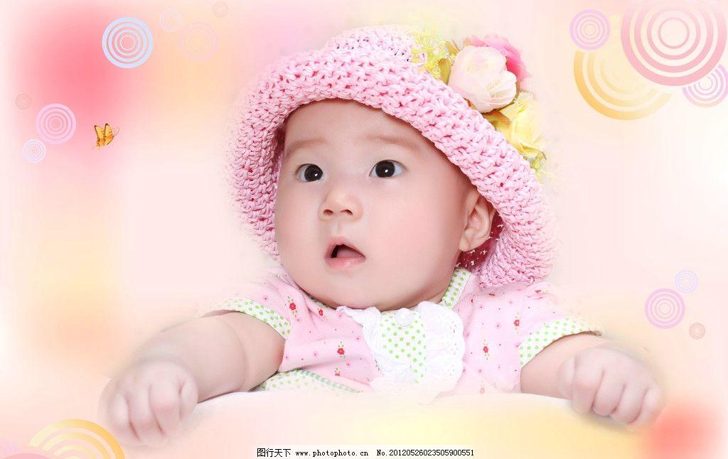 宝贝婴儿 小宝贝 儿童幼儿 女孩 小孩 人物 可爱 大眼睛 人物图库