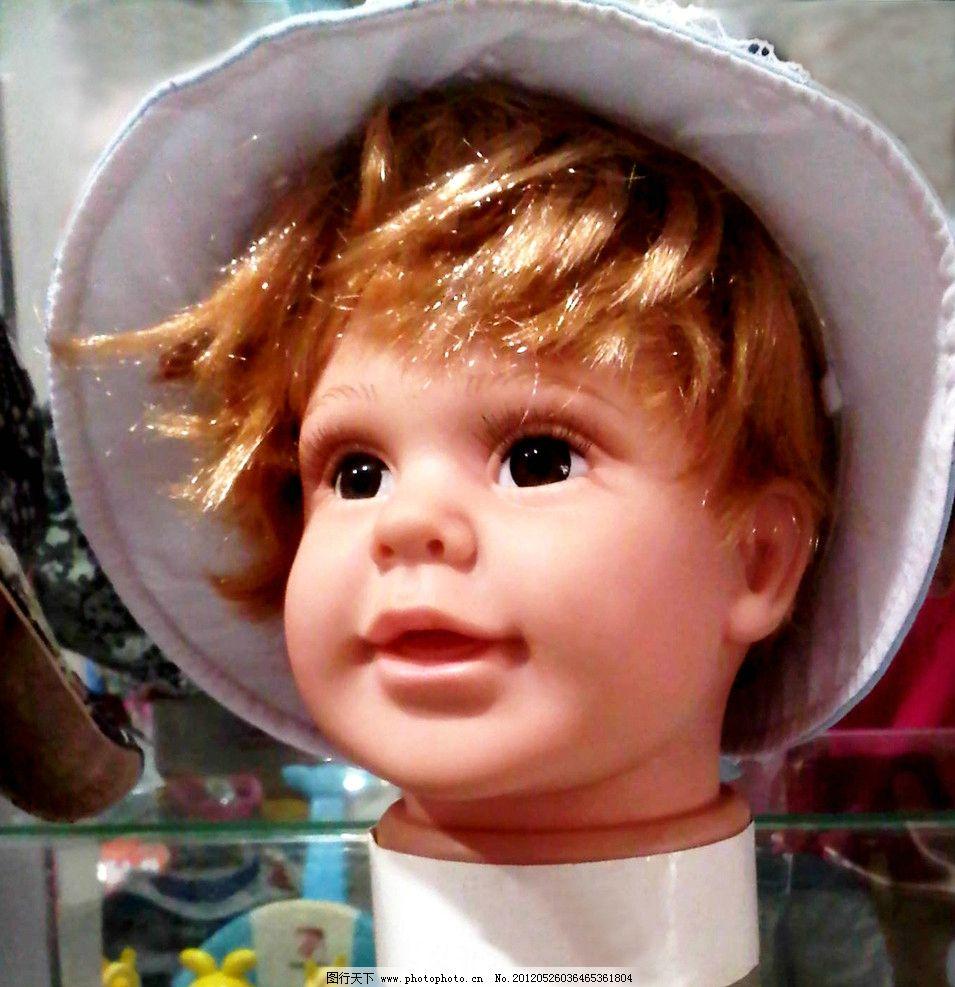 洋娃娃 工艺品 小孩 男孩 装饰品 外国小孩 小人 带帽子的小孩 儿童