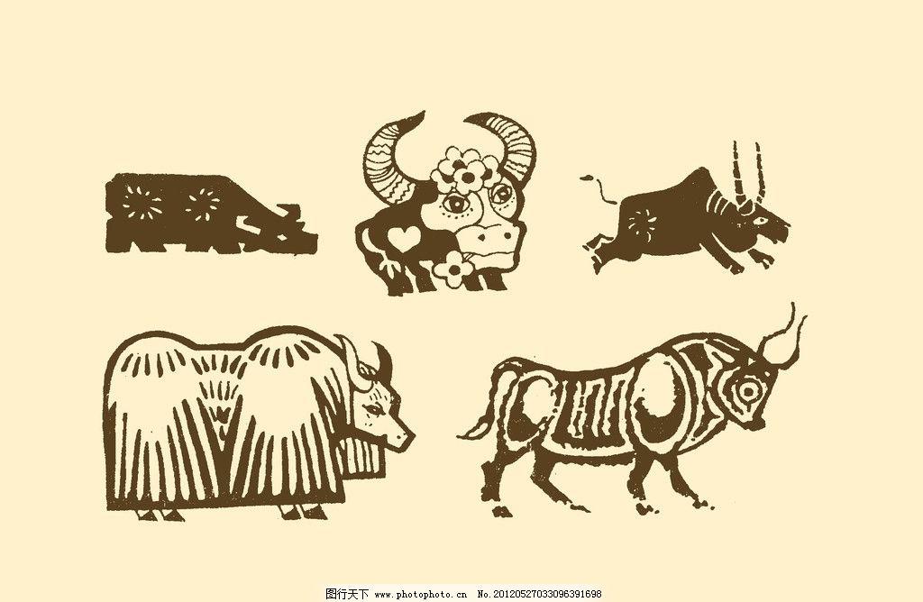 装饰画 图案 动物插画 插图 版画 简笔画 风光 装饰画 儿童画 线条